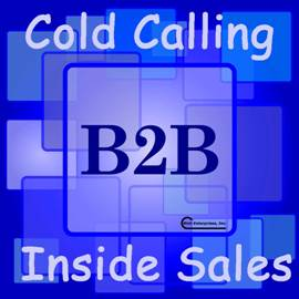 B2B Cold Calling Inside Sales in one of many services from Rich Enterprises Inc.