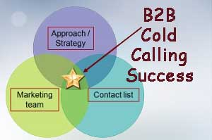 B2B Cold Calling Success - Approach, Marekting Team and Contact list. Let Rich Enterprises Inc go to work for you.